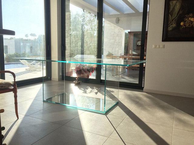 ¡¡Nuevas de mesas de vidrio extraclaro!!