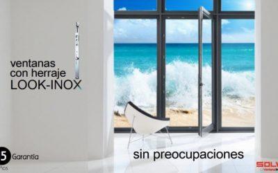 Nuevo herraje LOOK-INOX de Solven.