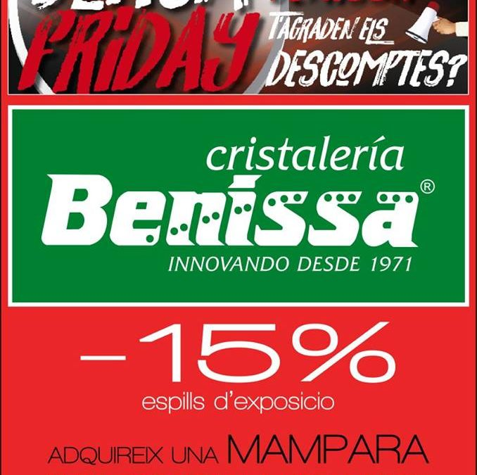 Black Friday en Cristaleria Benissa.