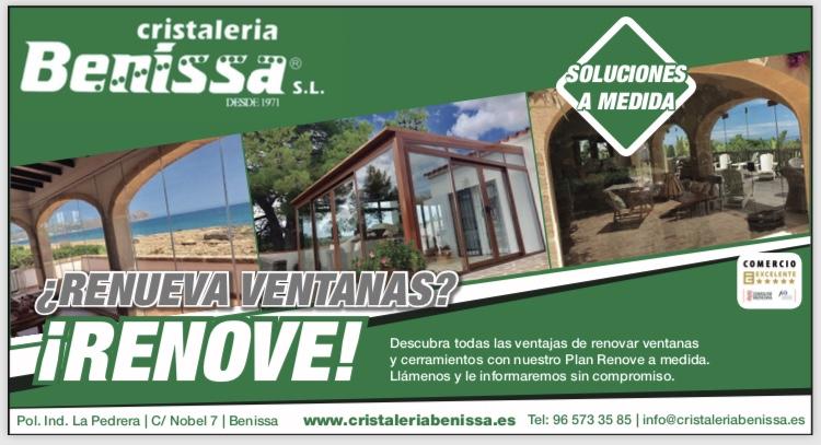 Plan Renove de Cristaleria Benissa.
