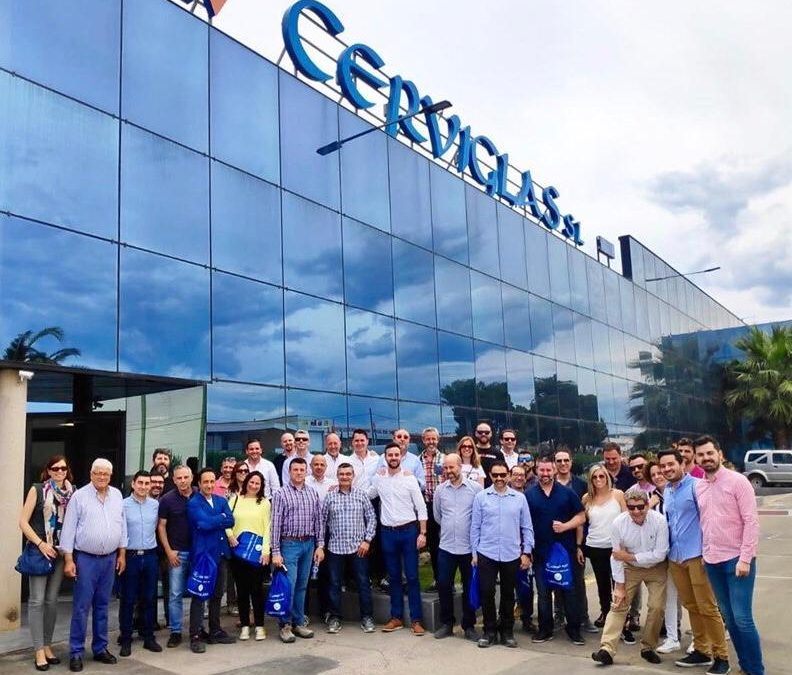 Jornada de formación en Cerviglas impartida por SaintGobain Group.