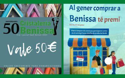 ¡¡comprar en Cristaleria Benissa tiene premio!!